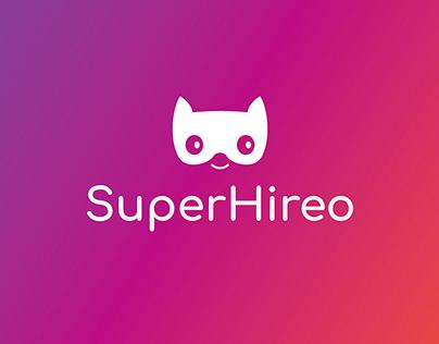 Superhireo branding & website