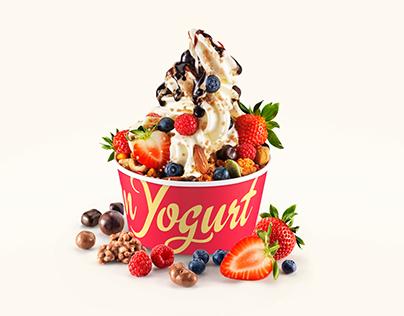 7-Eleven`s Frozen Yogurt