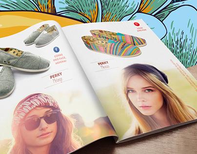 Catálogo Primavera-Verão Perky Calçados