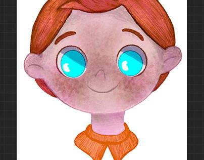 Brun - children book character