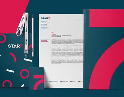 STAR7 - brand identity
