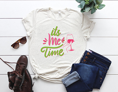Its me time t-shirt design