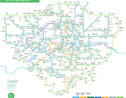 London Greenground Map