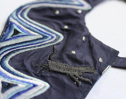Diseño de Accesorios Textiles Bordados
