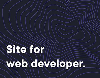 Site for web-developer