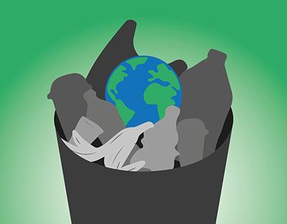 Zero Waste Poster Desing