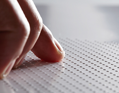 The braille poster