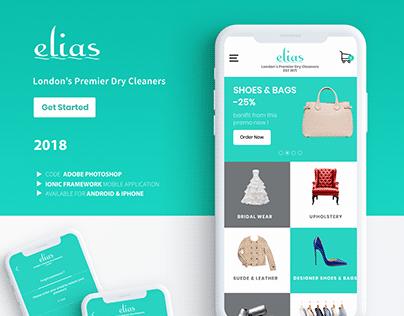 Elias-Laundry Mobile App