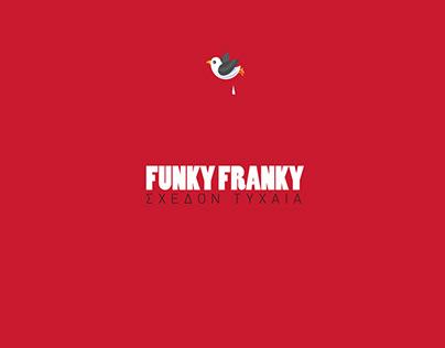 FUNKY FRANKY cd cover