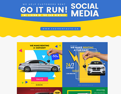 Easy Rent Social Media Designs