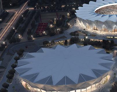 China Stadium by Lumion Render