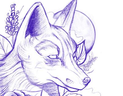 Diseño tatto Fox