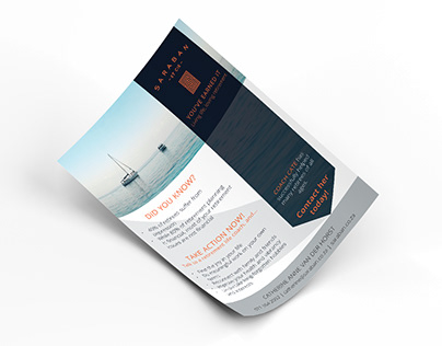 Financial Advisory Flyer