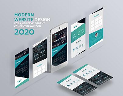 Website Design for a web design company in Swindon 2020