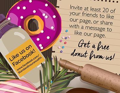Standard Insurance Free Donut Promo
