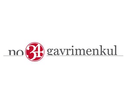 """No 34 Gayrimenkul"" Logo Design and Corporate Identity"