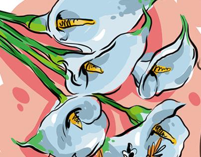 «Честнок» иллюстрации для весеннего проекта