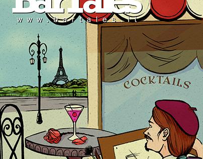 Bartales Web Magazine (April 2014) | Cover Design