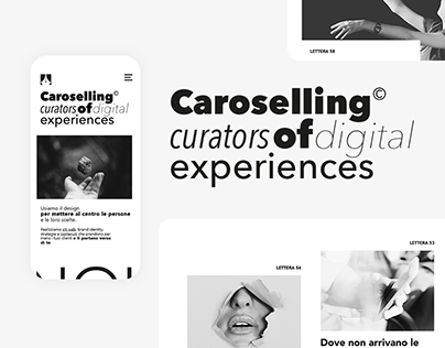 Caroselling: curators of digital experiences