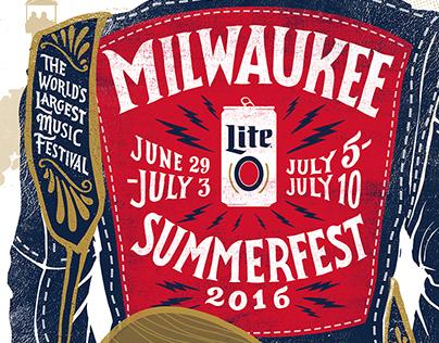 SUMMERFEST 2016 - Miller Lite