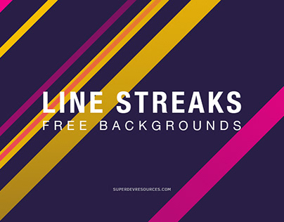 10 Free Line Streaks Backgrounds