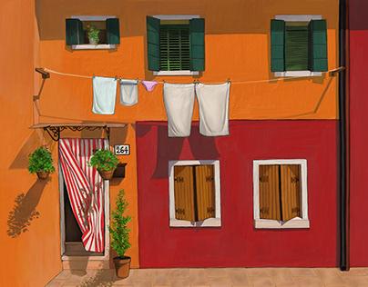 Apt 264 Burano Venice Italy