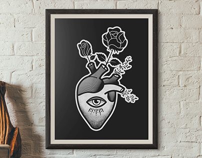 Black Work | Posters and T-shirts