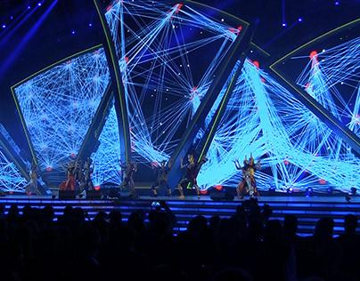 Stage design. Золотой Граммафон 2014-2015 г.