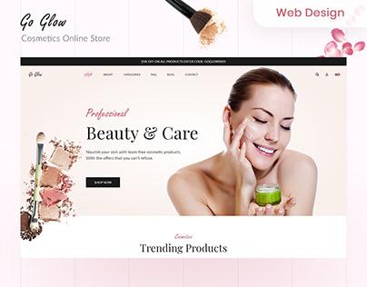 Go Glow Cosmetics Online Store