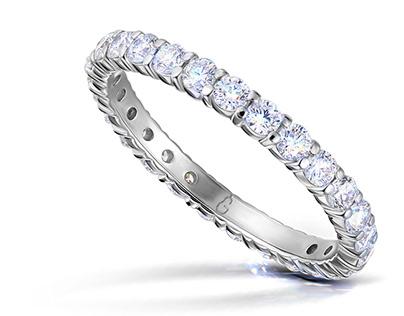 Jewelry retouch Grusha Diamonds