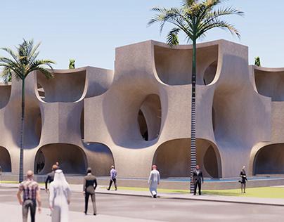 EXPO 2020 - Iran Pavilion: Redefining Vertical Garden