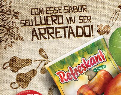 Lâmina Refreskant - Refresco Caju