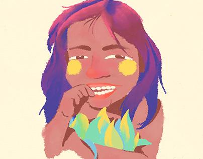 Fresco Girl Ilustra