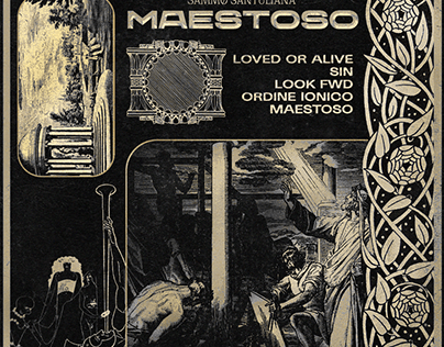 SAMMO SANTUALIANA - MAESTOSO (Official Album Artwork)