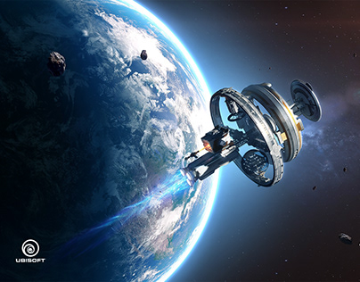 Key art - Agos: Game of Space by Ubisoft