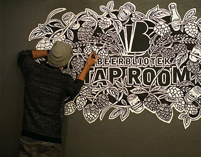 Tap Room Mural