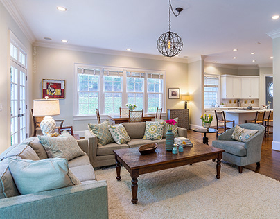 Interior Photography   Residential Living Spaces