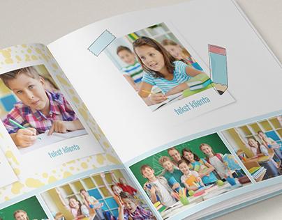 A set of photobooks designs