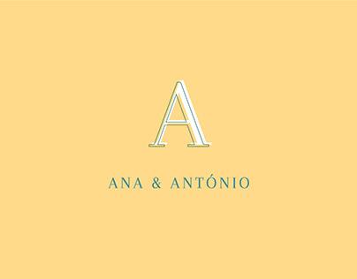 Ana & António - wedding design