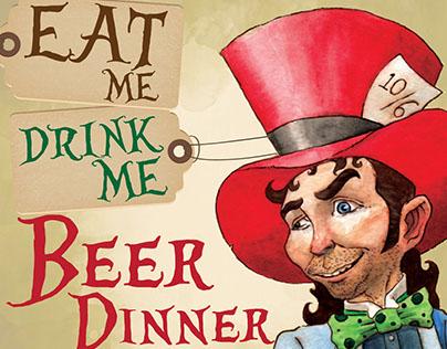 Mad Hatter Beer Dinner