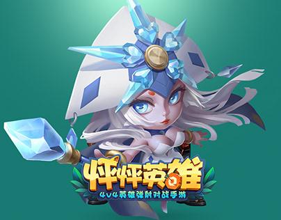 怦怦英雄-Game UI/UX Design