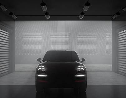 Porsche Cayenne — Immersive Installation