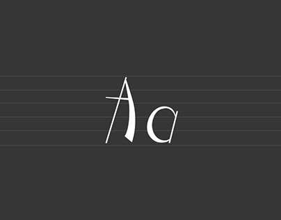Music :: A Display Typeface