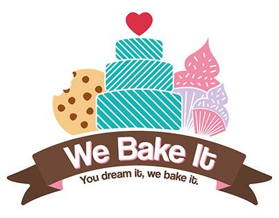 We Bake It logo