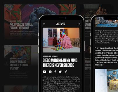 Juxtapoz Website