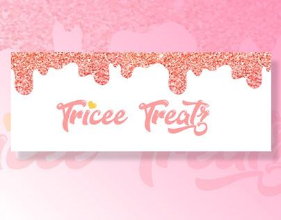 Tricee Treatz Branding