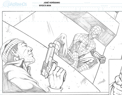 Comics sample pages_Spiderman