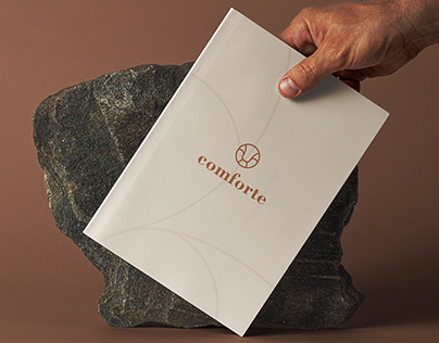 comforte - furniture company identity