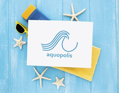 Rediseño del logo de Aquopolis