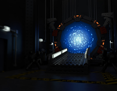 Stargate LEGO 3D / A day at SGC